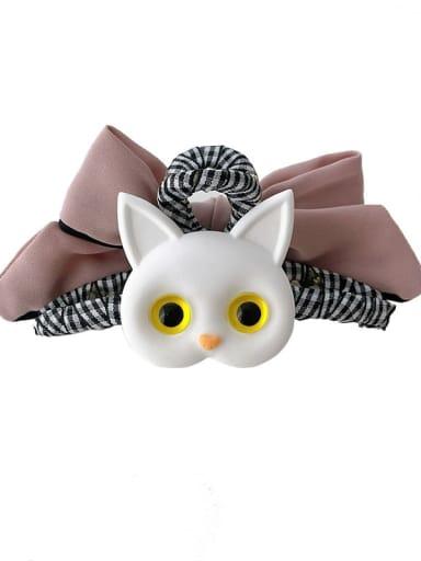 Alloy Resin Trend Owl Hair Barrette