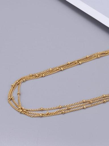 Titanium Multilayer bead Classic Choker Necklace