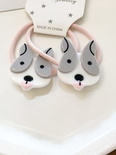 4 husky Cellulose Acetate Cute  Small animals Hair Rope