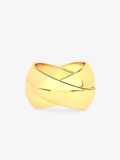 Titanium Steel Geometric Minimalist Stackable Ring