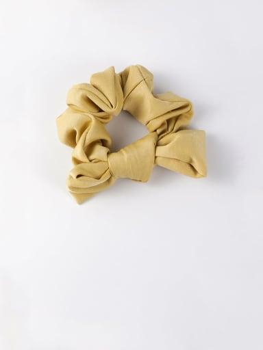 C orange Ribbon bow headband tied hair hair band