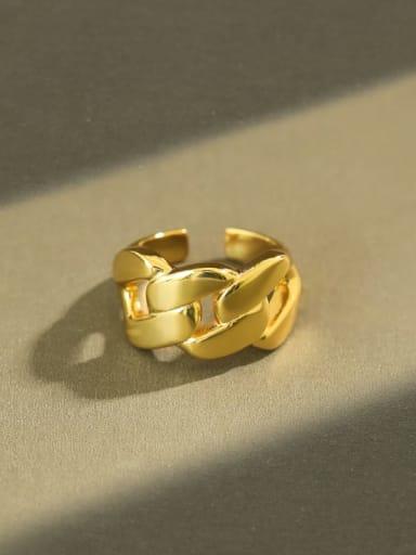 925 Sterling Silver Minimalist  Irregular  Band Ring