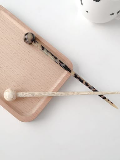 Cellulose Acetate Trend Round Hair Stick