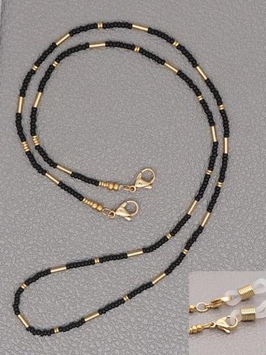 Stainless steel  Miyuki Bead Multi Color Bohemia Hand-woven Necklace