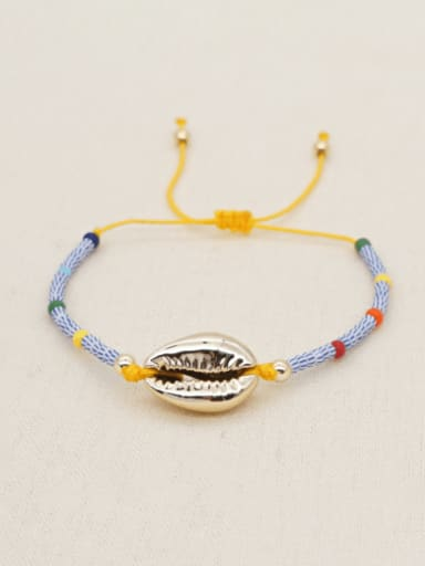 QT B200097A Stainless steel Mouth Bohemia Woven Bracelet