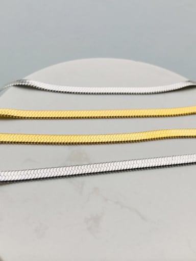 Stainless Steel Minimalist Snake Chain
