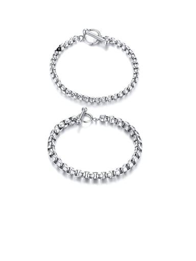 Titanium Irregular Minimalist Bracelets