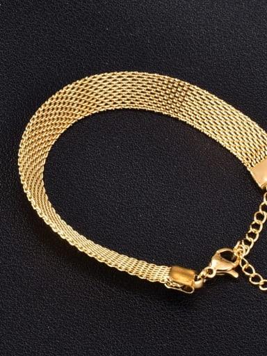 Titanium Steel Irregular Vintage Bracelet