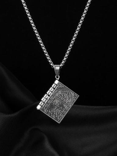 Alloy Hip Hop Vintage cross pendant Necklace