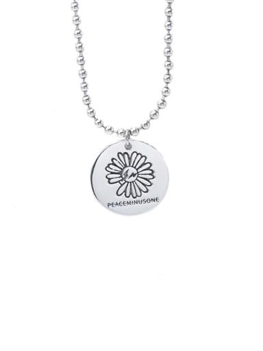 Chrysanthemum chain 925 Sterling Silver Geometric Vintage Bead Anklet