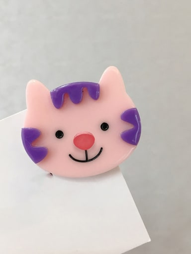little cat Cellulose Acetate Cute Dog Alloy Hair Barrette