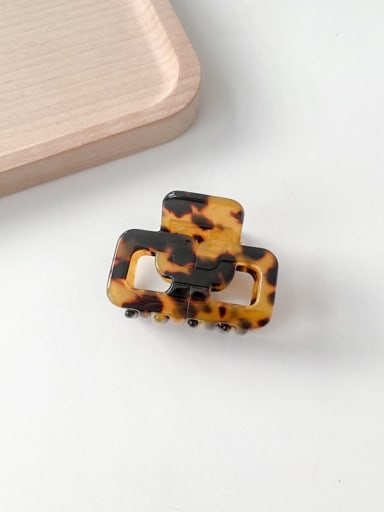 Hawksbill shell Cellulose Acetate Trend Geometric Alloy Jaw Hair Claw