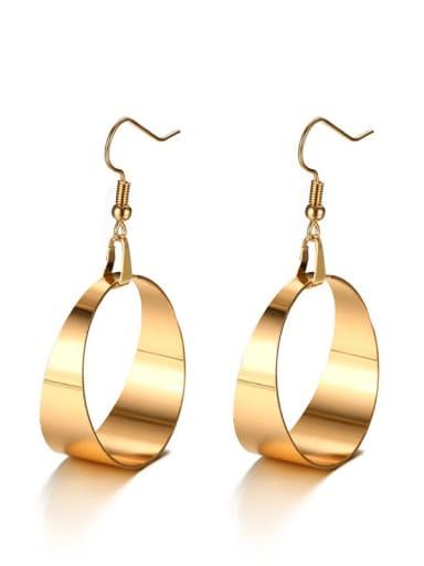 Stainless steel Geometric Minimalist Hook Earring