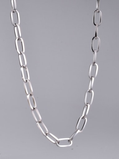 Titanium Steel Geometric Minimalist Necklace