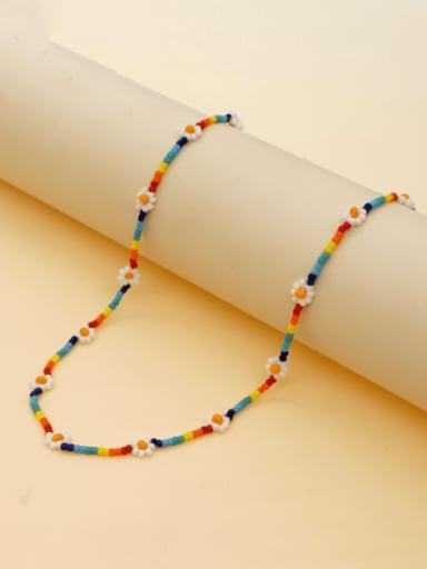 Multi Color Miyukitila Beads Bohemia Pure handmade Necklace