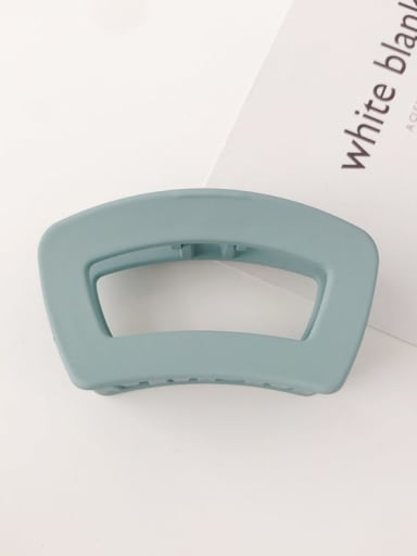 Blue frosting Cellulose Acetate Minimalist Geometric Alloy Jaw Hair Claw