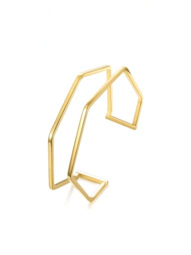 Stainless steel Geometric Minimalist Cuff Bangle