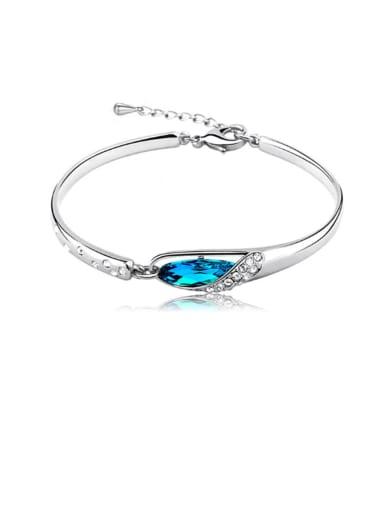 Copper Crystal Geometric Minimalist Bracelet