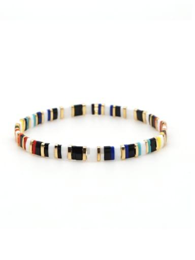 TL B190091D Tila Bead Bohemia Multi Color Geometric Pure handmade  Bracelet