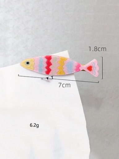 Tropical fish Cellulose Acetate Alloy Cute Dolphin  Hair Pin