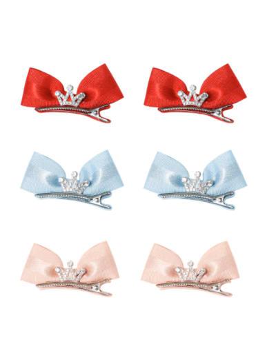 Alloy Fabric Minimalist Bowknot  Multi Color Hair Barrette