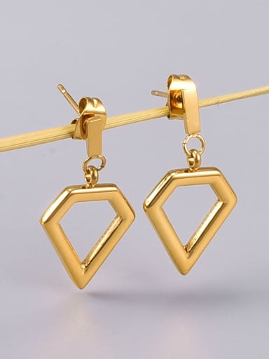 Titanium Steel Triangle Minimalist Drop Earring