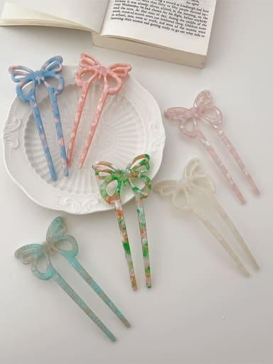 Cellulose Acetate Trend Bowknot Hair Comb