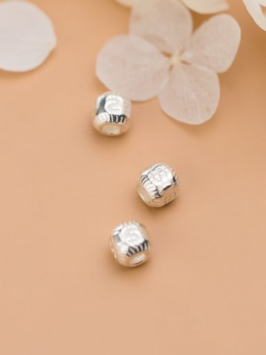 925 Sterling Silver With Beads Handmade DIY Jewelry Accessories
