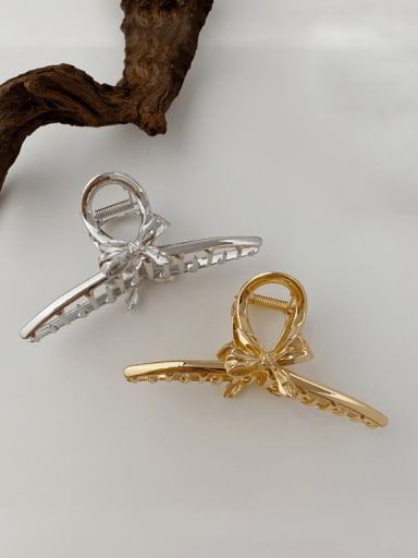 Alloy Hip Hop Bowknot  Jaw Hair Claw