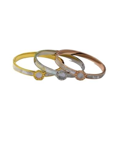 Titanium Number Minimalist Bracelet