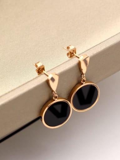 Titanium Water Drop Minimalist Drop Earring