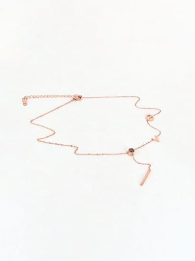Titanium Locket Dainty Initials Necklace