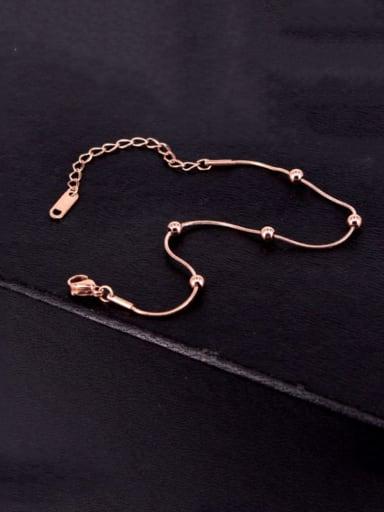 Titanium Bead Geometric Minimalist Beaded Bracelet