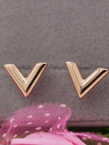Titanium Geometric Minimalist Stud Earring