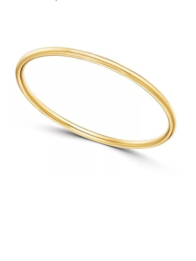 Color Simple design, opening and overlapping titanium steel ring