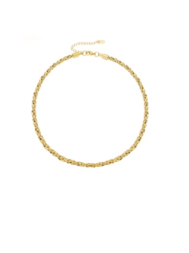 Titanium Steel Hip Hop Irregular Bracelet and Necklace Set