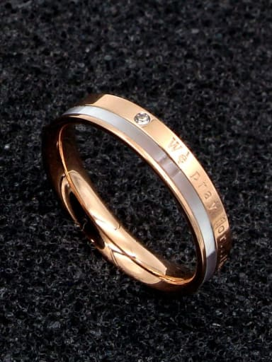 Titanium Shell Minimalist Band Ring
