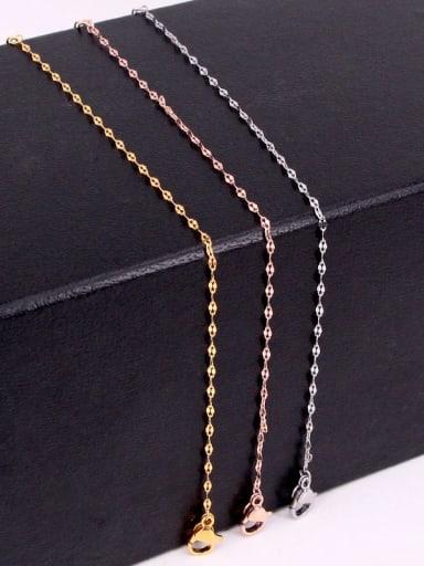 Titanium Steel Irregular Minimalist Link Bracelet