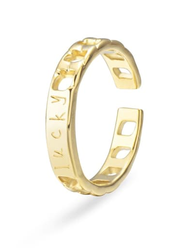Stainless steel hollow chain couple ring