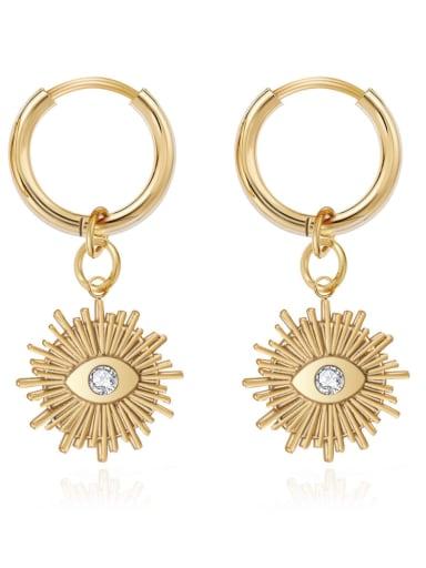 Vintage Design Eye stainless steel earrings