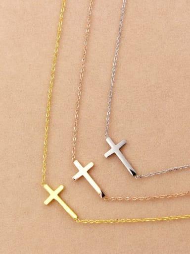 Titanium Cross Regligious Necklace