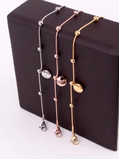 Titanium Smooth Dainty Bracelet