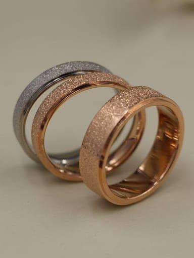 Titanium  Matte Dainty Band Ring