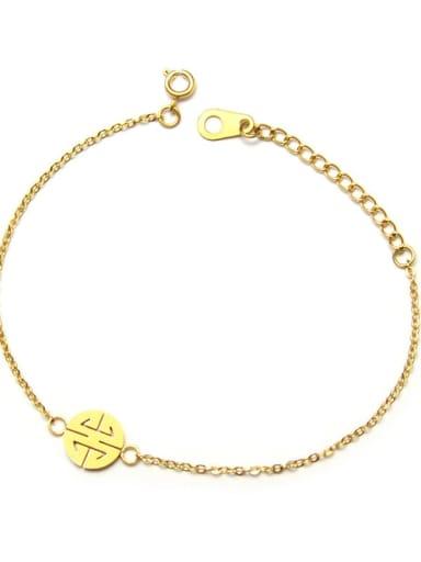 Titanium Steel  Minimalist Irregular Earring Bracelet and Necklace Set