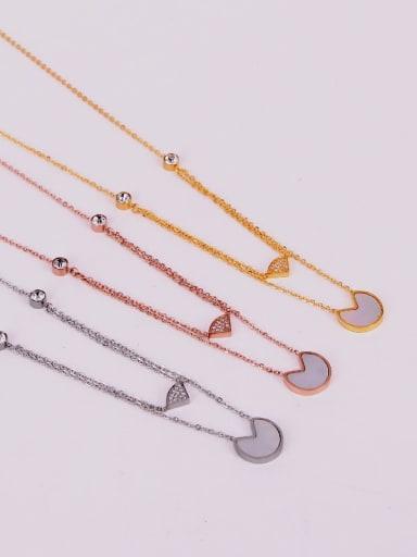 Titanium Shell Locket Minimalist pendant Necklace