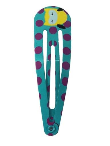5101 Alloy  Enamel Cute Water Drop Children's hairpin bb clip