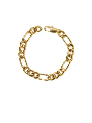 Bracelet Brass Geometric Vintage Hollow chain Choker Necklace