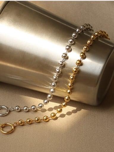 Brass Round bead Vintage Beaded Bracelet