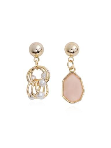 Copper Resin Geometric Bohemia Drop Trend Korean Fashion Earring