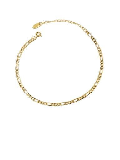 Style 3 gold Brass  Geometric Minimalist Anklet